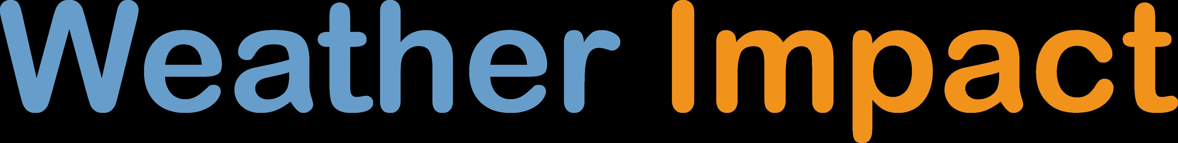 Weather Impact Logo